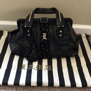 L.A.M.B. Black purse